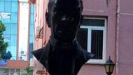 Atatürk büstüne çirkin saldırıya tutuklama