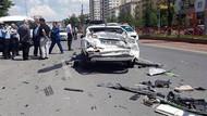Otobüs caddeyi savaş alanına çevirdi: 1 ölü 4 yaralı