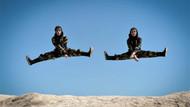 İran'ın kadın ninjalarının ilginç görüntüleri
