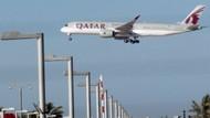 Katar'a hava sahası yasağı başladı
