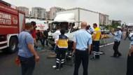 TEM otoyolu Edirne istikametine zincirleme kaza