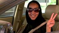 Araba kullanan kadın ikinci kez tutuklandı