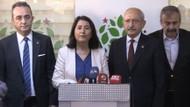 CHP Lideri Kılıçdaroğlu HDP Genel Merkezi'nde