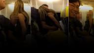 Manchester-Ibiza uçağında skandal!
