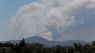 İzmir'de orman yangını… Elektrik ve su verilemiyor