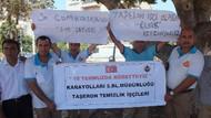 Taşeron işçiler Cumhurbaşkanı'na mektup göndererek kadro istedi