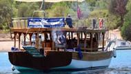 Bodrum'da günübirlik tur teknelerine mangal tepkisi