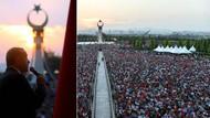 Erdoğan'dan Şehitler Abidesi'nin açılışında sert mesajlar