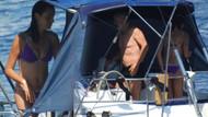 Teknede görüntülenen Arzum Onan fiziğine maşallah dedirtti