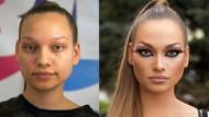 Rus kadınların makyajsız halleri sizi çok şaşırtacak