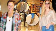 Bengü ve Yasmin Erbil'e yaz günü bot giydiren moda