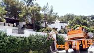 Bodrum'da site sakinlerinden ağaç kesimine tepki