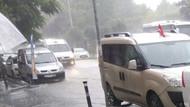 Ankara saatlik hava durumu şiddetli yağmura dikkat