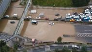 İBB: İstanbul'da metrekareye 65 kilogram yağış düştü