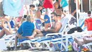 Hakan Yılmaz halk plajında eşiyle tartıştı