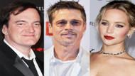 Tarantino yeni filmi için Brad Pitt ve Jennifer Lawrence ile görüşüyor