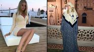 Dmitriy Peskov'un kızı Elizaveta Peskova tesettüre büründü