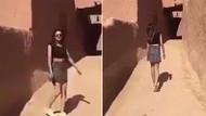 Suudi Arabistan'da mini etek giyen kadın gözaltına alındı