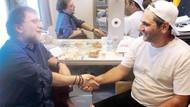 Ahmet Hakan yalancısın müfterisin dediği Aykut Erdoğdu ile karşılaşınca