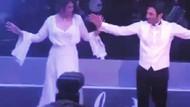 Ozan Akbaba ve Buket Arıkan düğünde böyle oynadı