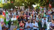 HDP'den Beşiktaş Abbasağa Parkında gövde gösterisi