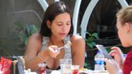Zehra Çilingiroğlu sabah kahvaltısında mantı yedi!