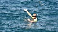 Denizde boğularak can verdi