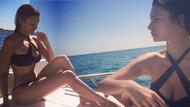 Leyla Lydia Tuğutlu'dan büyüleyici tatil pozları