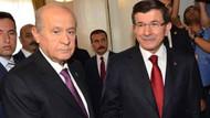 Ahmet Davutoğlu'ndan Bahçeliye: Nezaketten yoksun tavırlar..