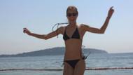 Bade İşçil'den bikinili poz