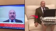 Al Jazeera yorumcusu canlı yayına pantolonsuz katıldı