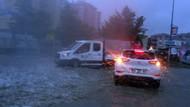 İstanbul'da şiddetli yağmur ve dolu şoku