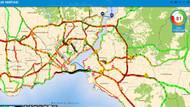 Son dakika... İstanbul'da kırmızı alarm! E-5 ve E-6 otoyolunda trafik durdu...