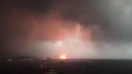 Haydarpaşa'da patlama anının görüntüleri dehşet yarattı