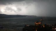 İstanbul'a 27 Temmuz'da kabus yaşatan şiddetli yağıştan şok görüntüler