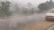 İstanbul'da gökten mermi gibi dolu yağdı! Olay görüntüler