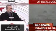Sosyal medya Cumhurbaşkanı Erdoğan'ın Avrasya videosunu konuşuyor!