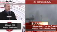Cumhurbaşkanı Erdoğan'ın gündem olan Avrasya Tüneli konuşması