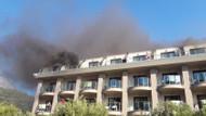 Antalya'da otel yangını! 400 kişi tahliye edildi