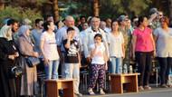 Diyarbakır'da şehit olan binbaşı Ümit Çelik'in çocukları herkesi ağlattı