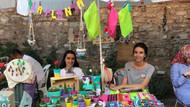 Oyuncu Pınar Tuncegil pazarcı oldu