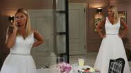 Pınar Altuğ gelinlik giydi!