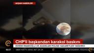 Ekrem İmamoğlu karakoldaki olay görüntüleri