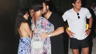 Deniz Akkaya sevgilisi Gökmen Şeynova ile önce tartıştı sonra öpüştü