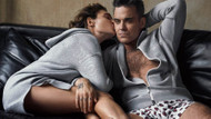 Robbie Williams ve eşi Ayda kamera karşısına geçti