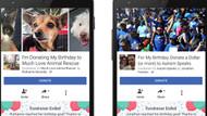 Facebook'tan doğum günleri için anlamlı yenilik