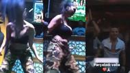 Nez'in seksi dansı üstünü başını parçalattı!