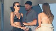 Leonardo DiCaprio kendisinden 19 yaş küçük Lorena Rae ile yakalandı