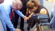 Cumhurbaşkanı Erdoğan'ı otobüsten indiren Cesur köpek