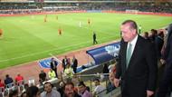 Cumhurbaşkanı Erdoğan maçı tribünden izledi